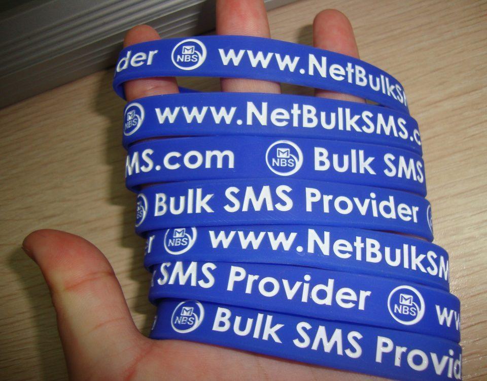 NetBulkSMS Silicone Wrist Band